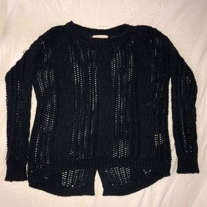 Philosophy knit button back sweater